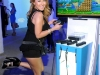 NEW YORK, NY - JUNE 27: (EXCLUSIVE COVERAGE)  Actress Adrienne Bailon plays New Super Mario Bros. U at Nintendo Hosts Wii U Experience on June 27, 2012 in New York City.  (Photo by Jamie McCarthy/WireImage)