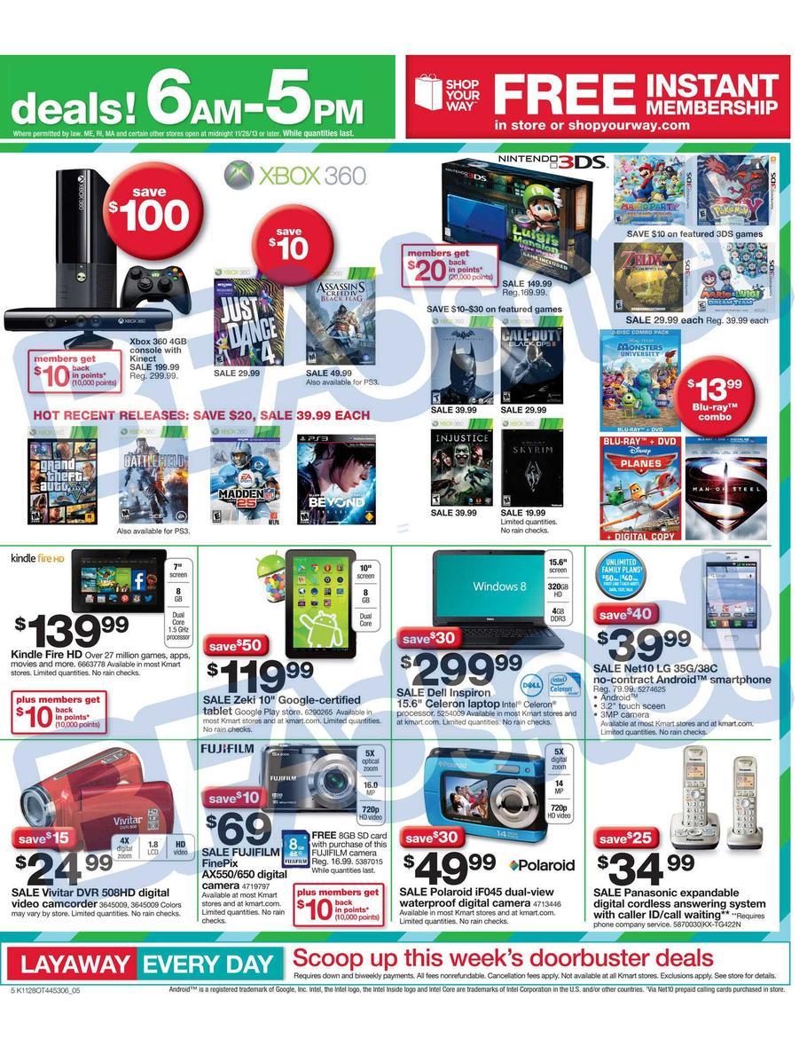 sale paper for kmart