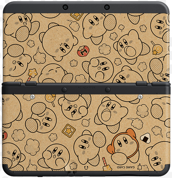 New Nintendo 3DS cover plates Kirby-cover-plate
