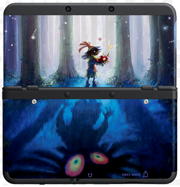 New Nintendo 3DS cover plates Majora-cover-plate