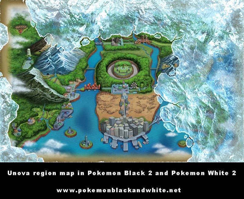 Pokemon blackwhite 2 map comparison nintendo everything the gumiabroncs Gallery