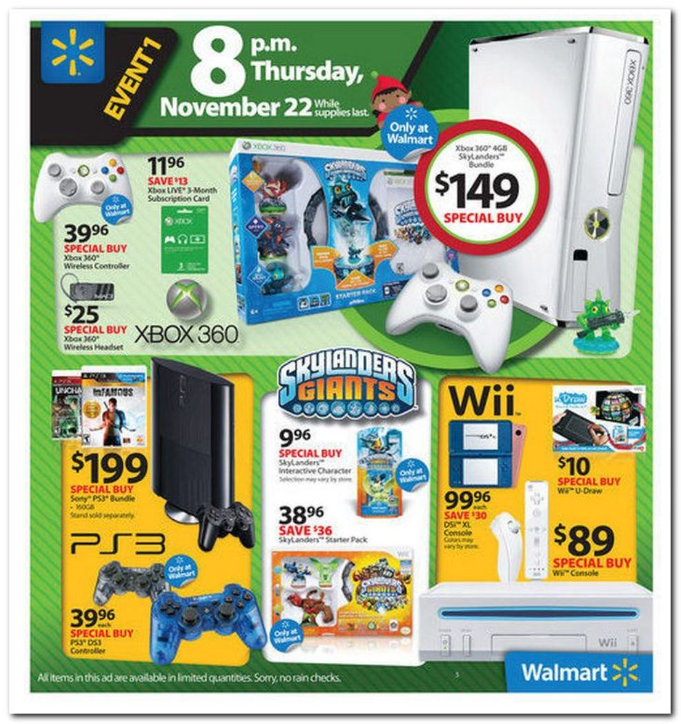 Walmart's entire Black Friday 2012 ad has been posted online. All of ...