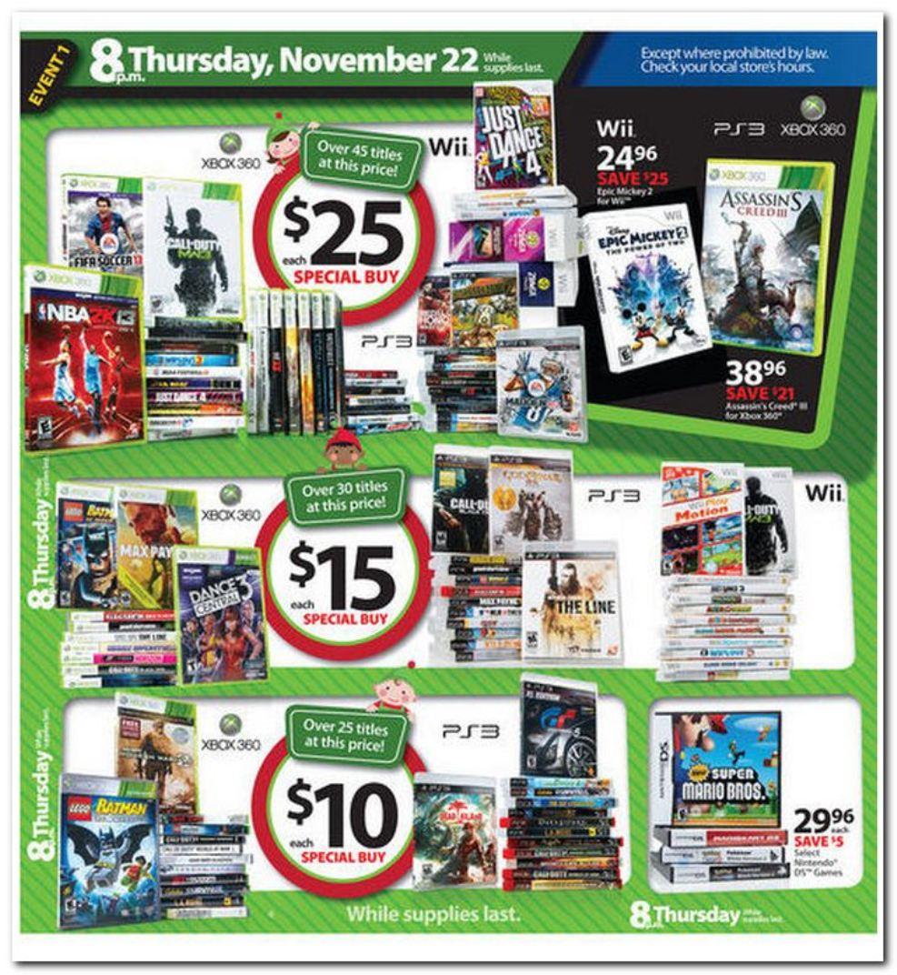 Walmart's Black Friday 2012 deals - Nintendo Everything