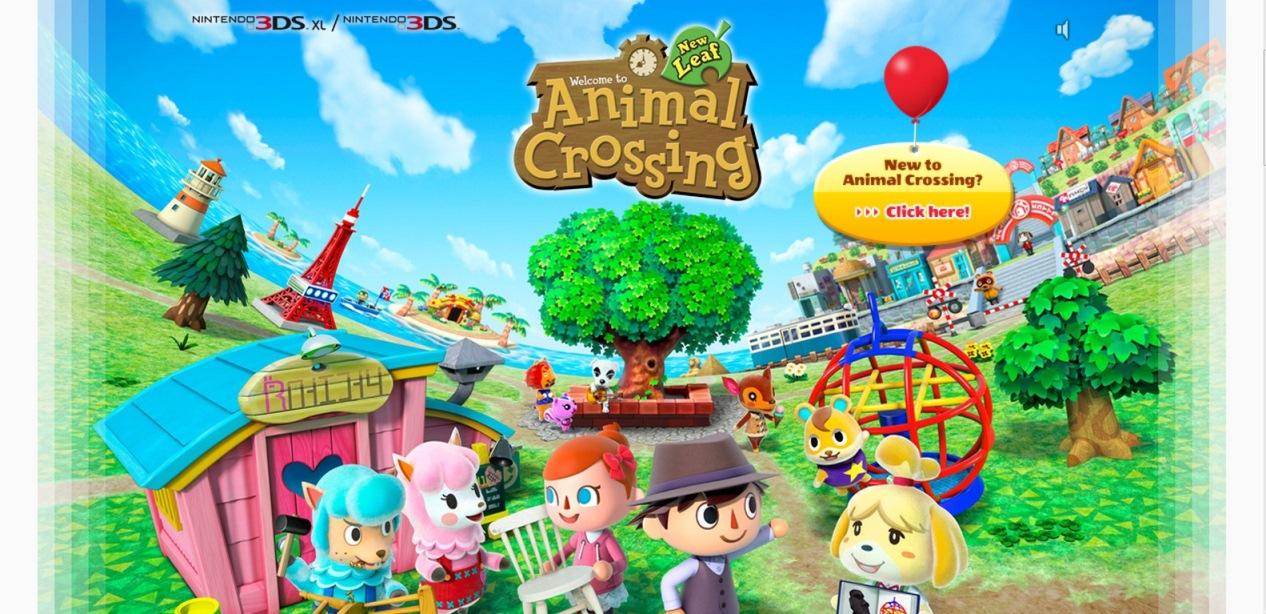 Totaka's song hidden in European Animal Crossing: New Leaf site ...