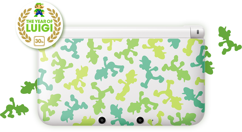 Luigi 3ds Xl Officially Dated For Japan Nintendo Everything
