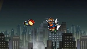 scribblenauts unmasked what?