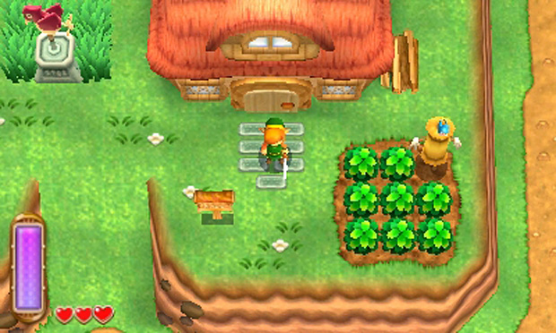 Zelda a link between worlds light dark world house for Housse zelda