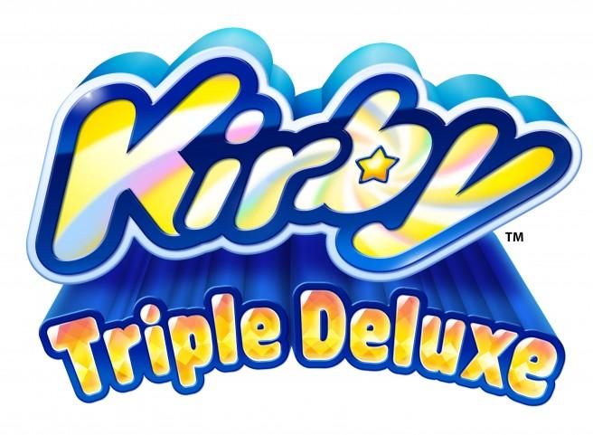 [Cobertura PSB] Kirby Triple Deluxe recebe data de lançamento nas Américas + novo trailer Kirby_Triple_Deluxe_Logo-656x481