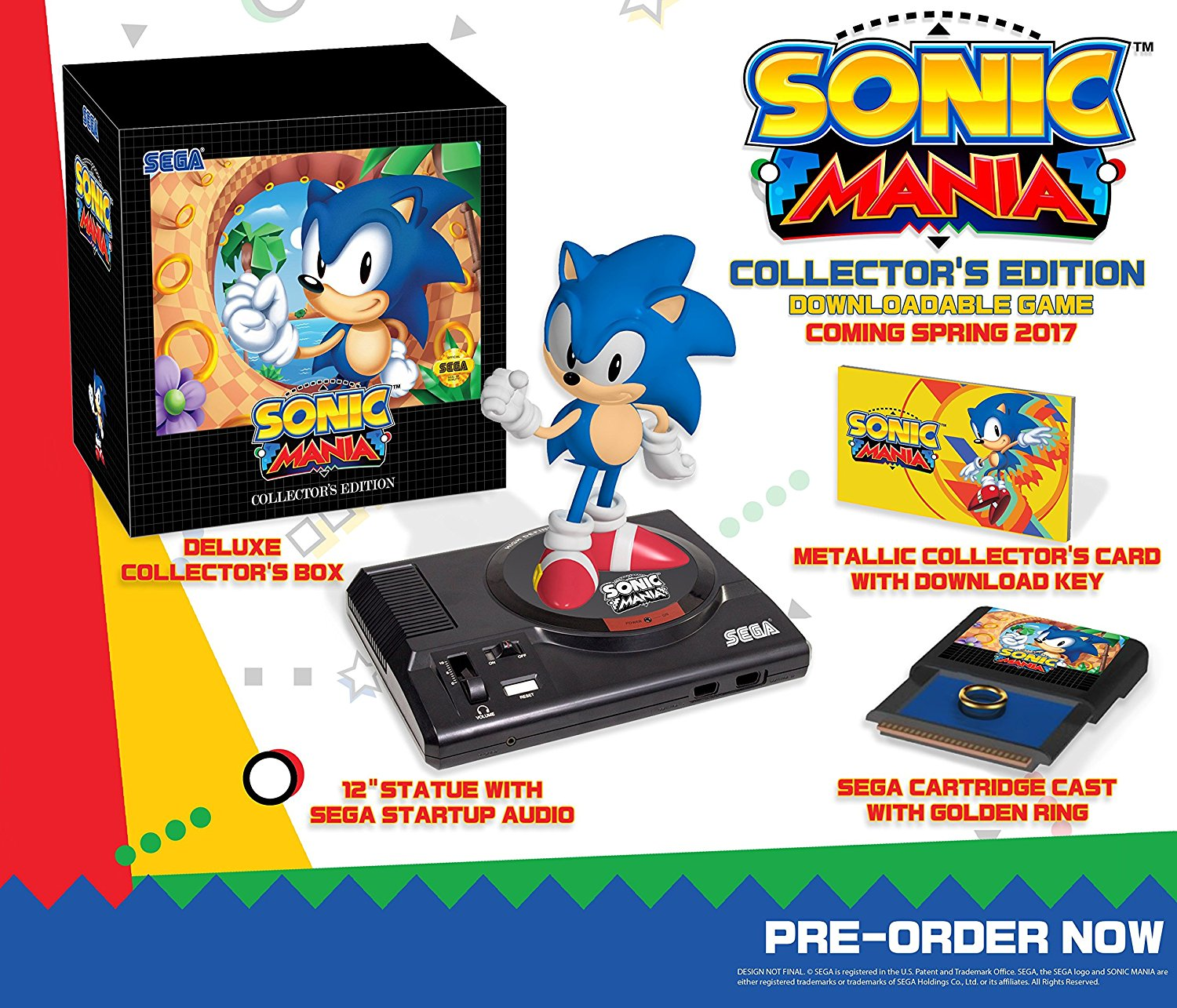 Best Buy Is Now Taking Preorders For The Sonic Mania Collector's Edition  It Previously Sold Out On Amazon, But The Retailer Has It Here