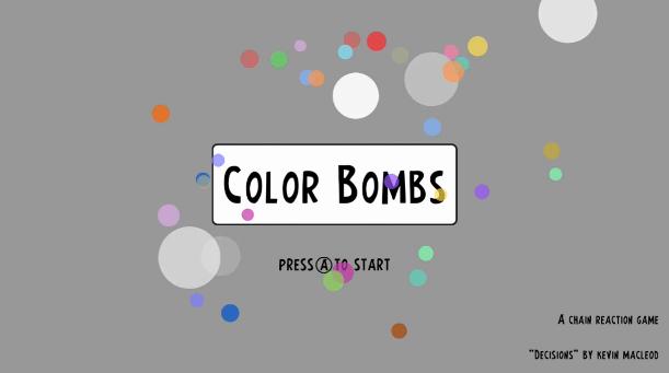 Color Bombs Wii U