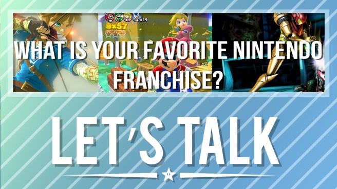 Let's Talk Favourite Franchise