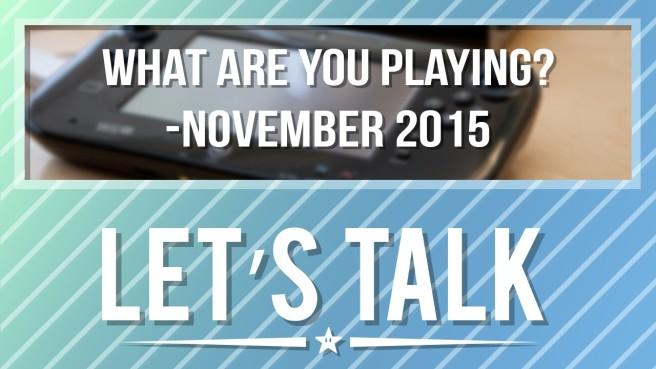 Let's Talk November