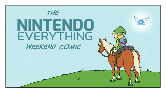 Nintendo Everything Comic Week one banner
