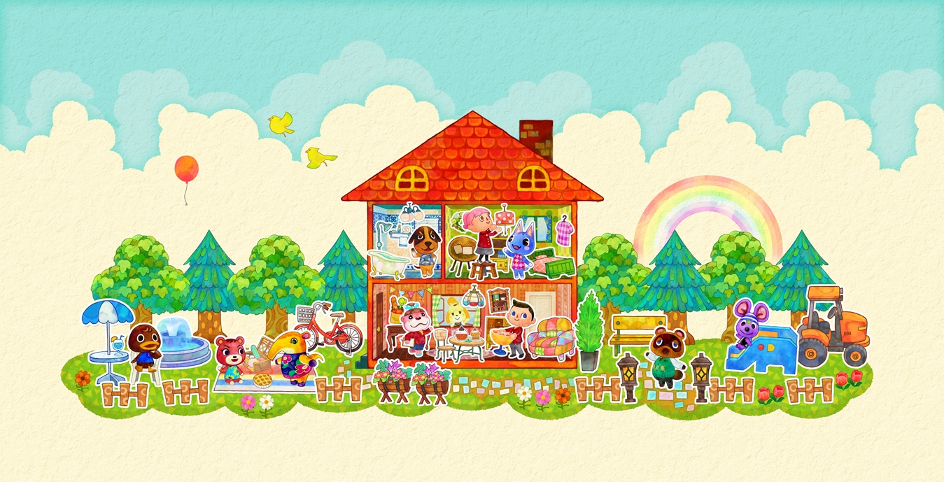 new wave of Animal Crossing: Happy Home Designer is now available