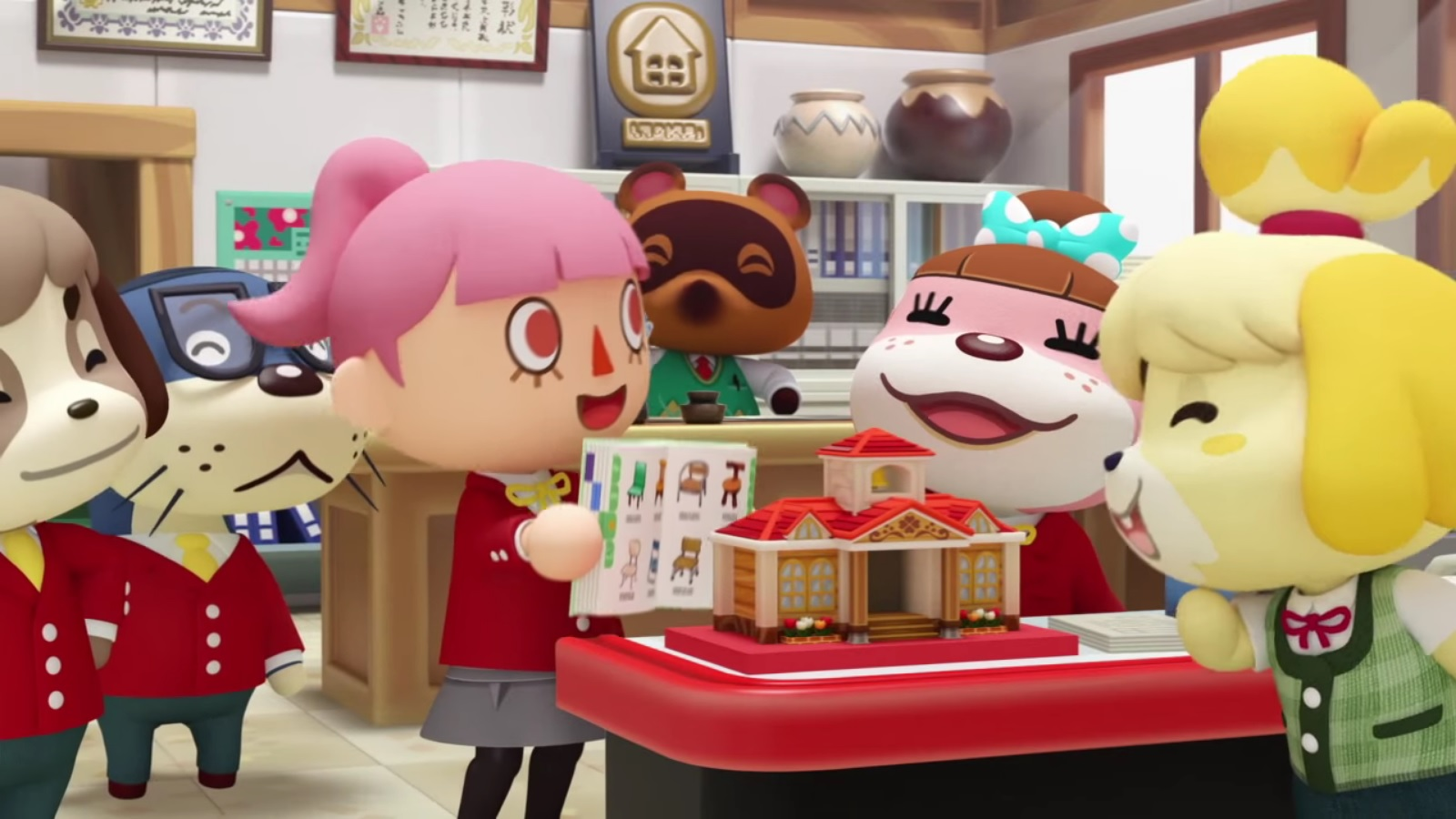 Japanese Animal Crossing: Happy Home Designer commercials  Nintendo