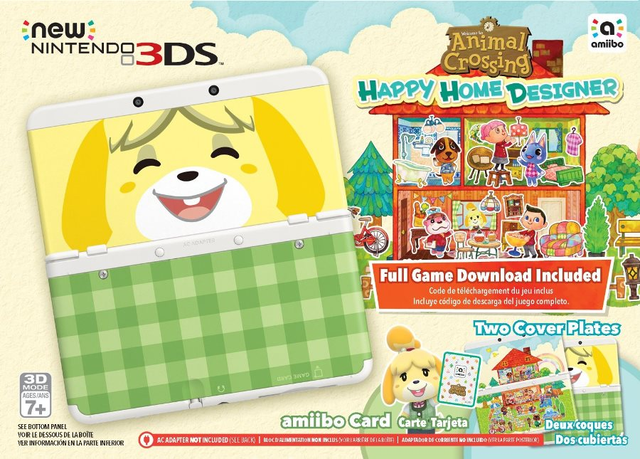 Animal Crossing: Happy Home Designer New 3DS bundle up on Target