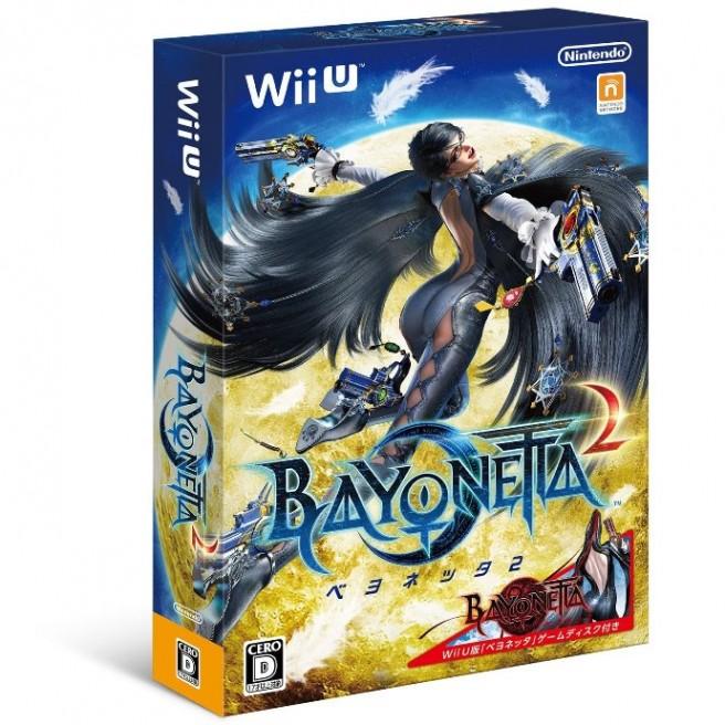 Bayonetta 2+1 box