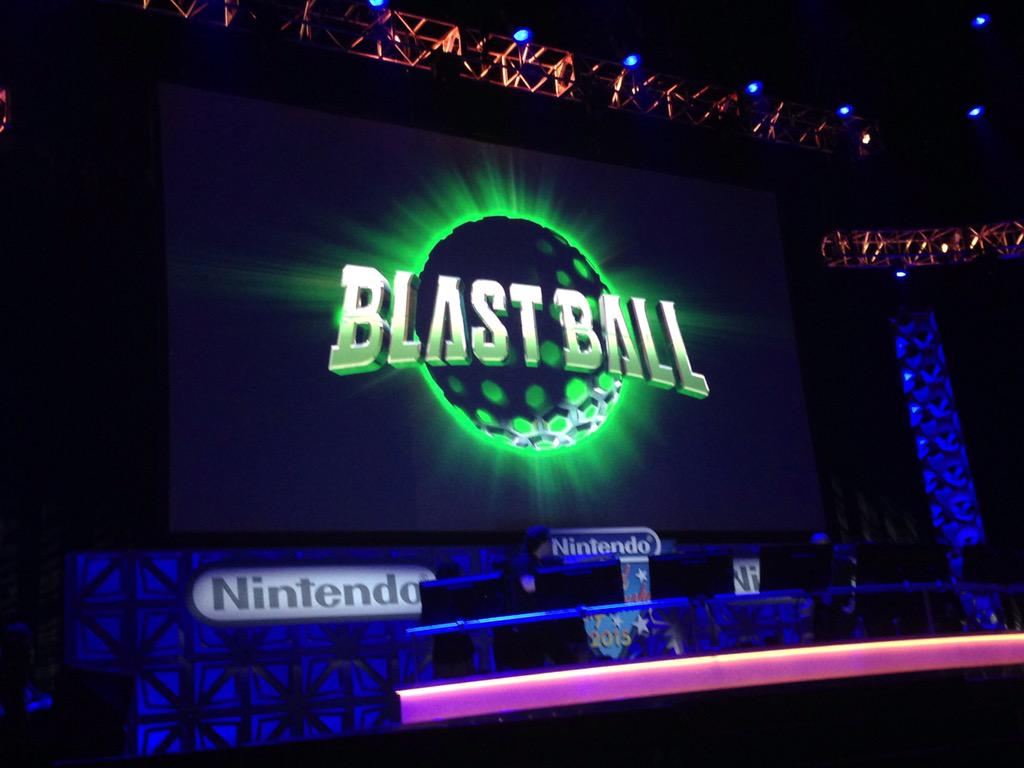 "Nintendo has announced ""Blast Blast"" for 3DS. This game debuted at"