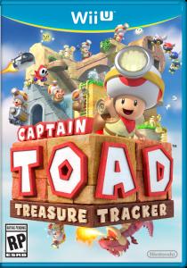 Captain Toad: Treasure Tracker box art