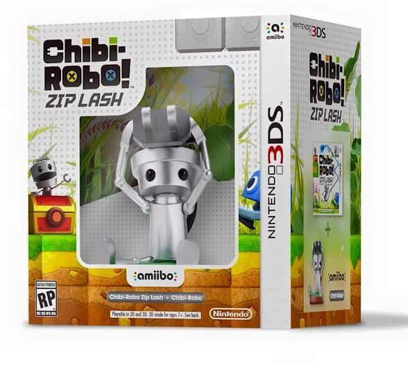 Chibi-Robo Zip Lash Bundle