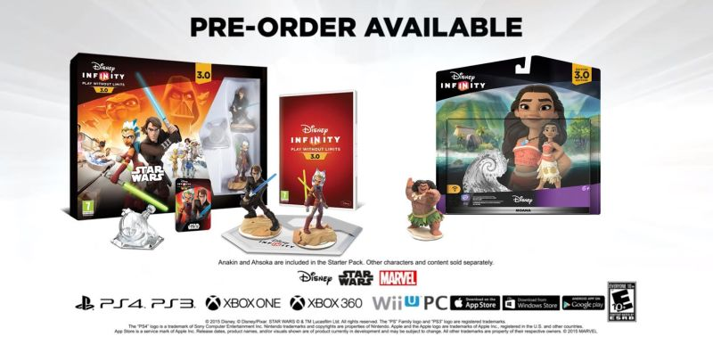 infinity 3 0. Before Disney Infinity 3.0 Was Cancelled, There A Lot Of Content Lined Up For The Game. That Included New Figures, Play Sets, And More. 3 0 F