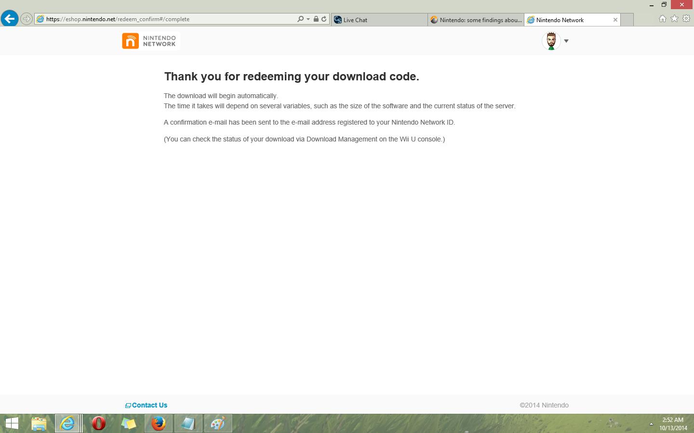 How to redeem your download code for nintendo wii u - Download2