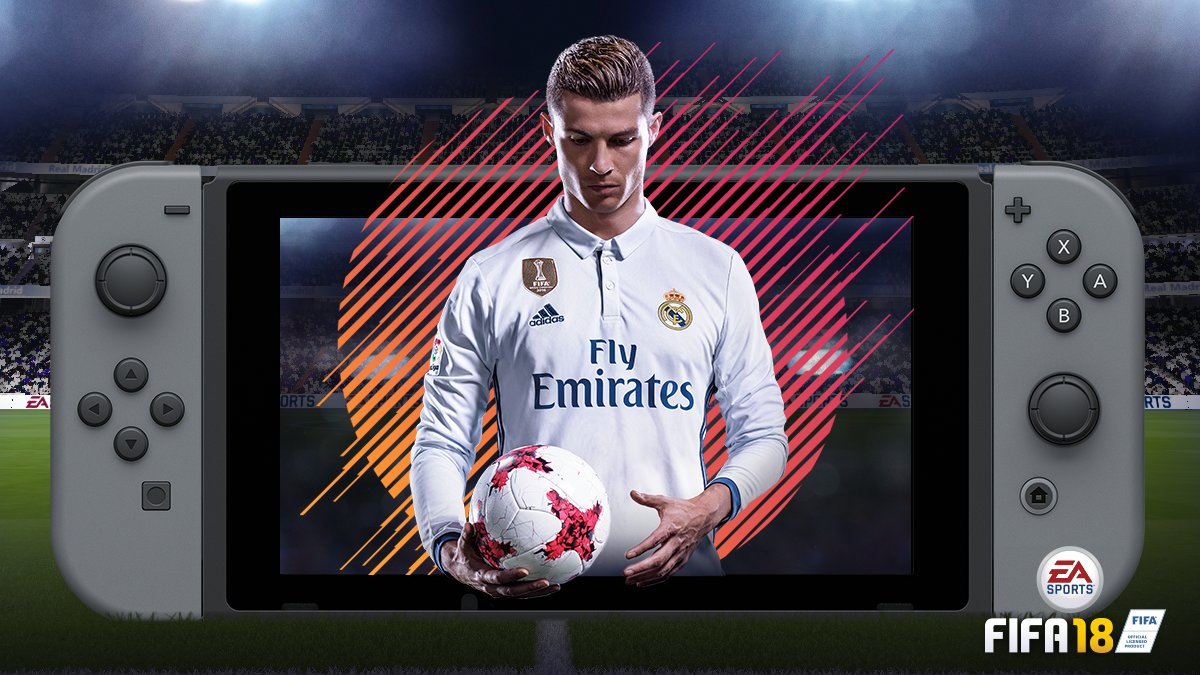 More off-screen FIFA 18 Switch images - Nintendo Everything