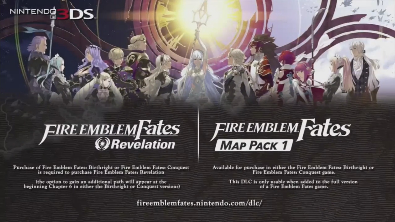 Fire Emblem Fates Downloadable Content Trailer Nintendo Everything - Fire emblem fates map pack 3 us