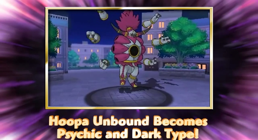 Hoopa Unbound revealed for Pokemon Omega Ruby/Alpha Sapphire ...