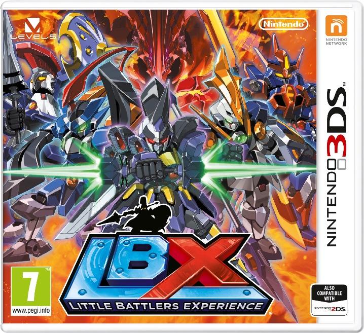 Nintendo has released the European boxart for LBX: Little Battlers ...