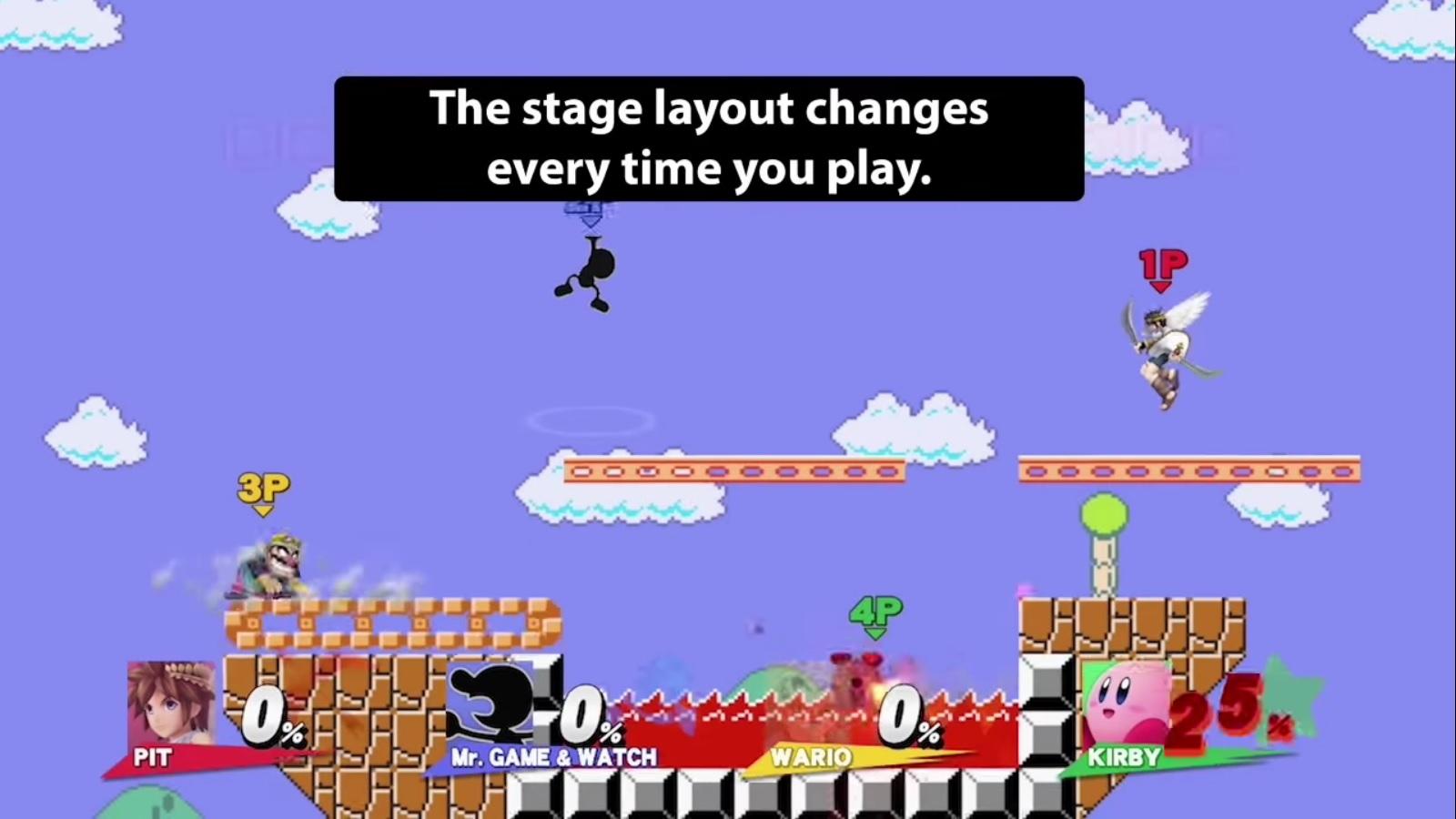 Super Smash Bros For Wii U3DS Mario Maker Stage Revealed Nintendo Everything