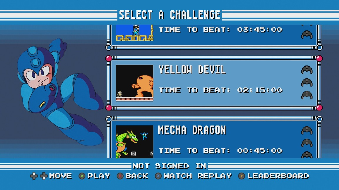 More Mega Man Legacy Collection challenge mode footage - Nintendo ...