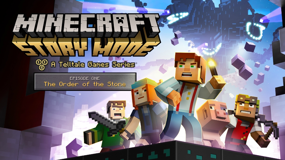Minecraft Story Mode - Episode 1 The Order of the Stone