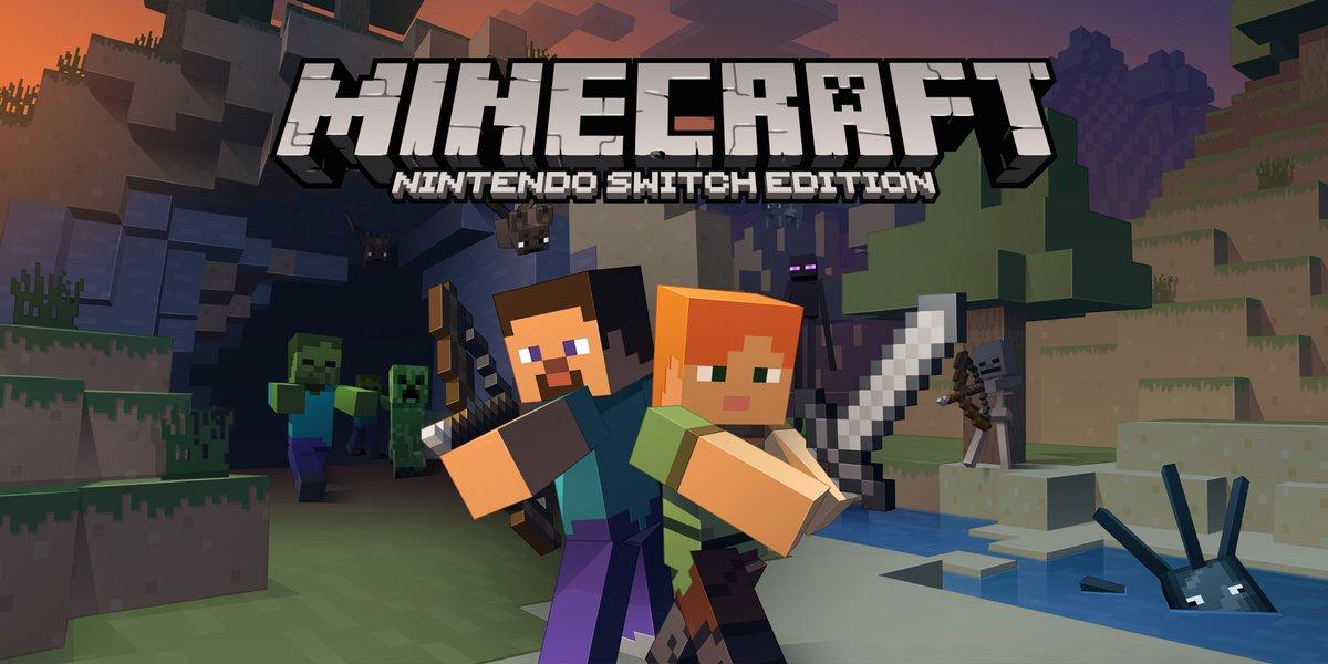 Minecraft: Nintendo Switch Edition details - Wii U world transfers ...