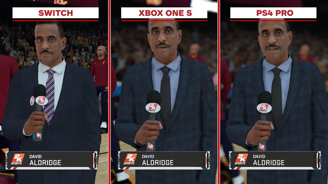 Penelope The Odyssey NBA 2K18 Switch vs. PS...