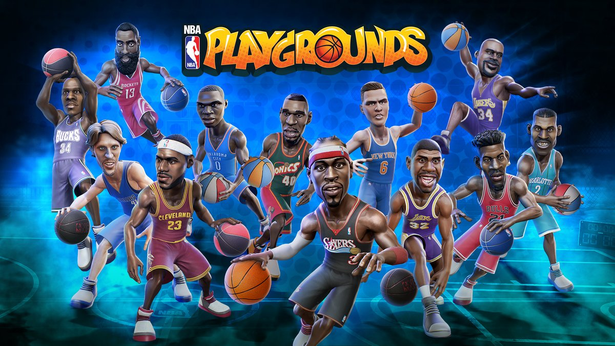 NBA Playgrounds hitting the European Switch eShop on May 9 ...
