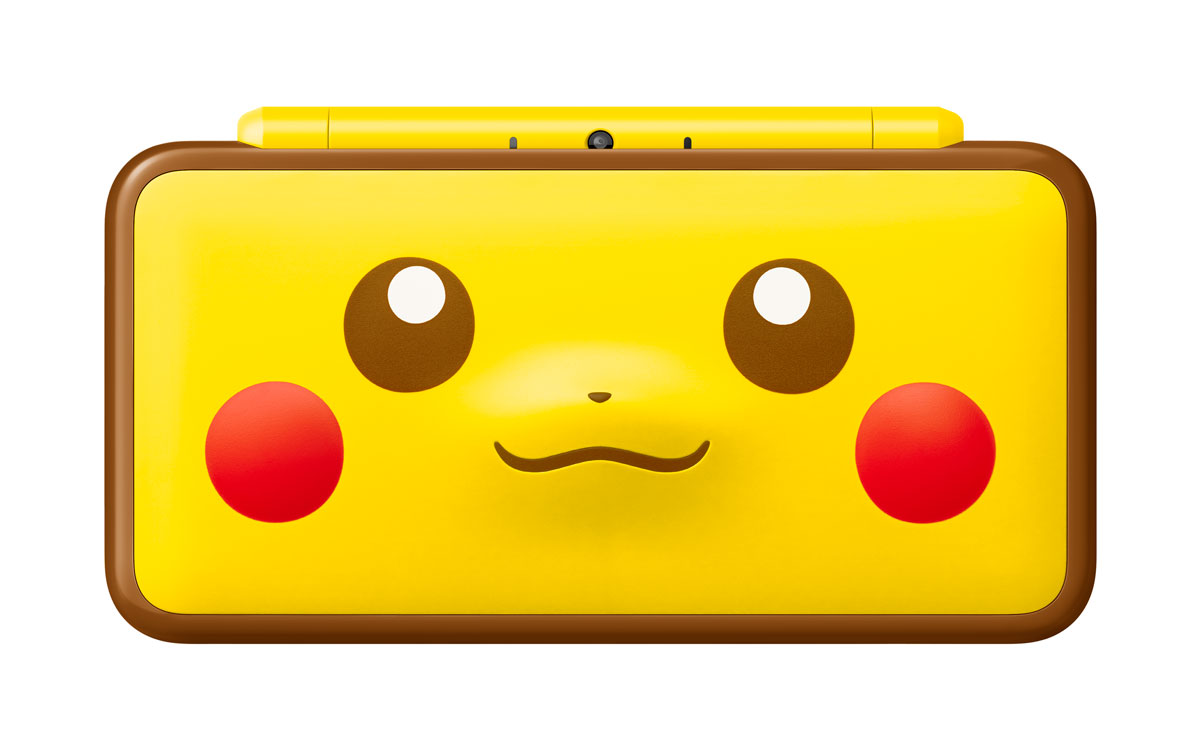 more photos of the poke ball pikachu new 2ds xl systems