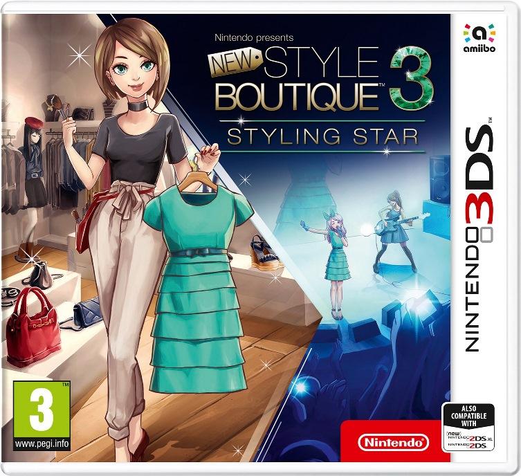 nintendo presents new style boutique 3ds Análise nintendo presents: new style boutique 3 esta análise foi efectuada com base em código final do jogo para a nintendo 3ds, gentilmente cedido pela nintendo.