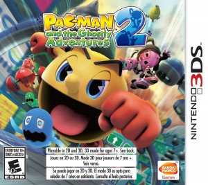 Pac-Man and the Ghostly Adventures 2 box art 3DS