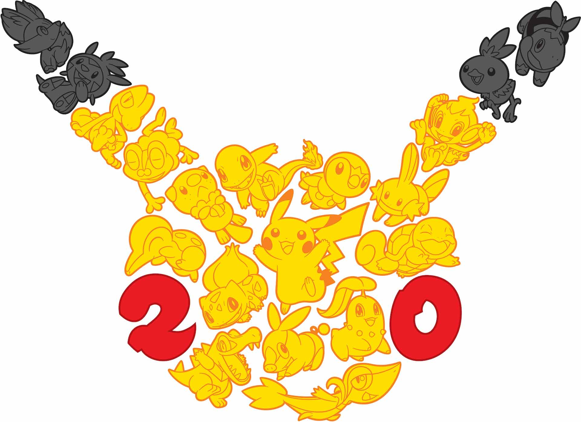 Pokemon 20th Anniversary Logo Super Bowl Commercial Planned