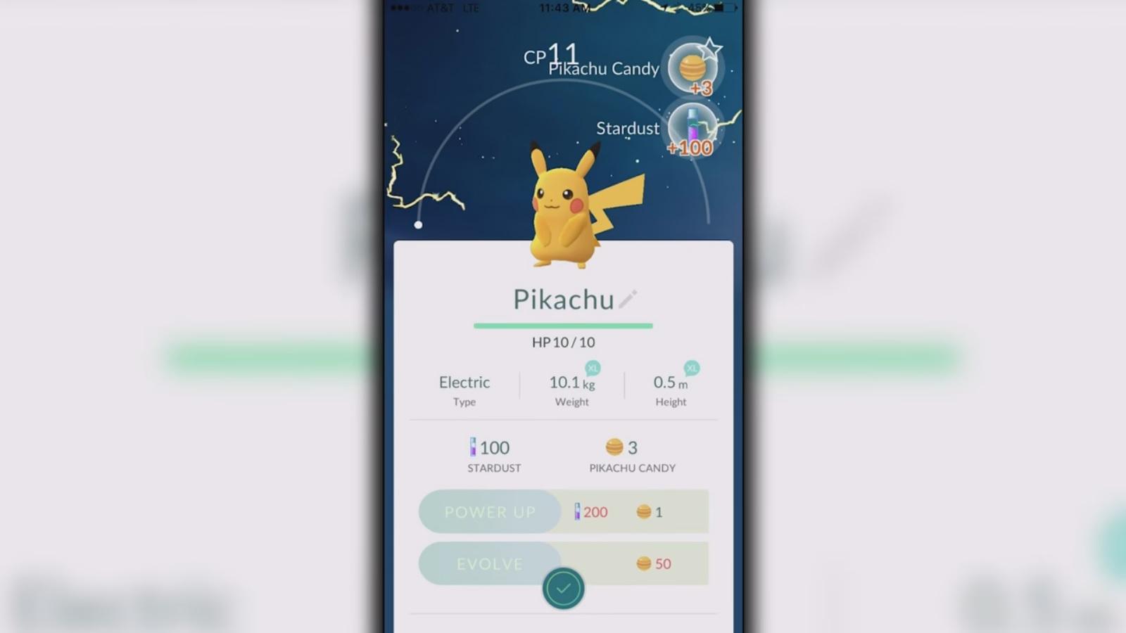 Pokemon Go Lets You Choose Pikachu As Your Starter