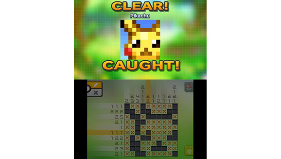 Jupiter is the developer of pokemon picross nintendo for Picross mural 1