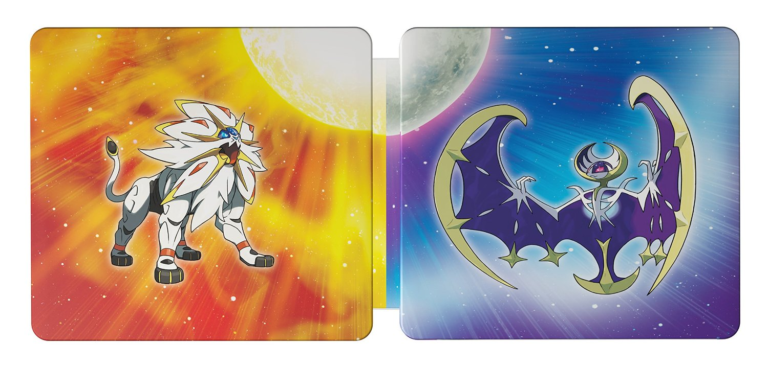 Amazon is offering an exclusive steelbook dual pack for pokemon