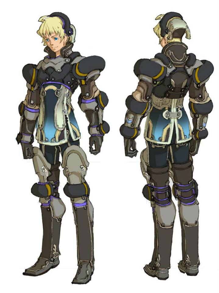 added a few pieces of concept art for Xenoblade Chronicles    Shulk    Xenoblade Chronicles Shulk