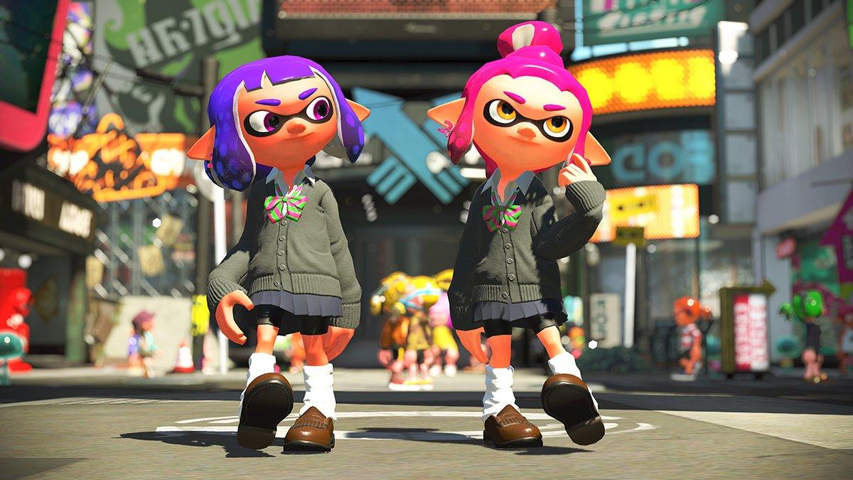 Splatoon 2: amiibo outfits revealed - Nintendo Everything