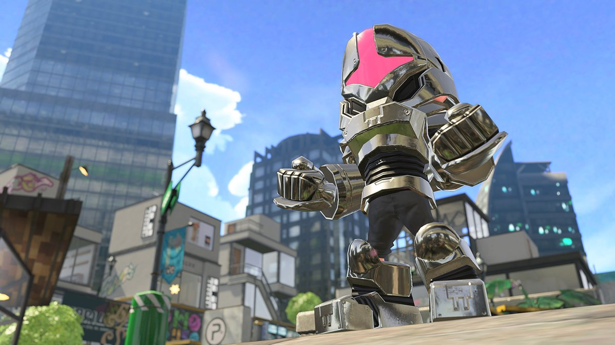 Splatoon 2 Amiibo Inkling Squid Outfit