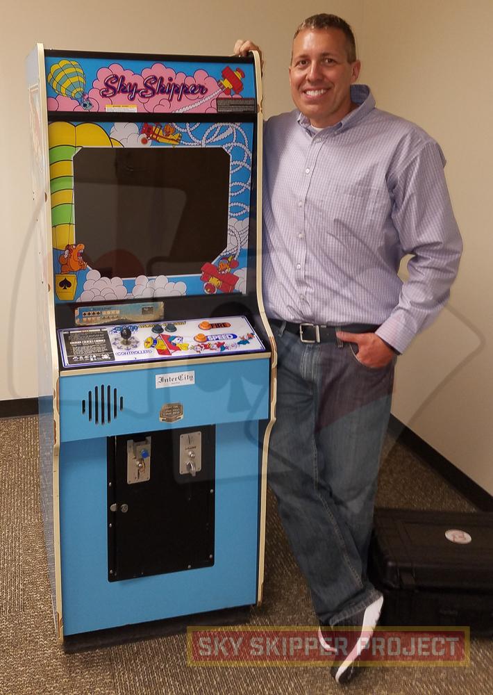 Sky Skipper arcade cabinet shown at Nintendo of America - Nintendo ...