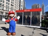 NEW YORK, NY - MARCH 03: In this photo provided by Nintendo of America, Mario makes a guest appearance at the Nintendo Switch in Unexpected Places activation at Madison Square Park in New York. The new Nintendo Switch home gaming system launches worldwide today on March 3, 2017 in New York City. (Photo by Michael Loccisano/Getty Images for Nintendo of America)