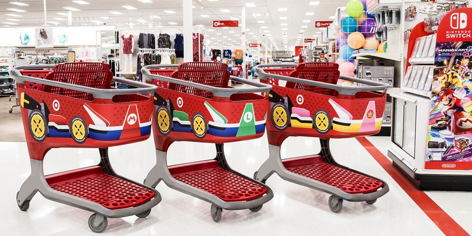 Target Is Promoting Mario Kart 8 Deluxe In A Big Way. As Part Of A  Limited Time Event, Over 650 Stores Have A Special Experience In Place  Tasked With ...