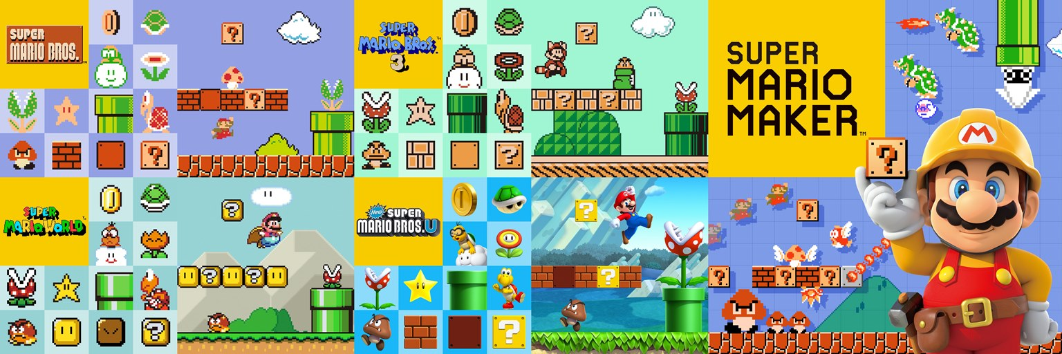 Super Mario Maker - file size, controllers, save up to 120 courses ...
